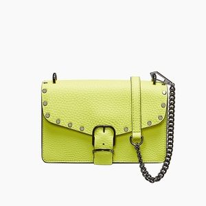 Rebecca Minkoff Leather Biker Mini Crossbody.